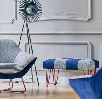Bancs et poufs meubles Gautier